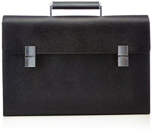 Porsche Design French Classic 3.0 BriefBag FM 4090001524 Herren Henkeltaschen 43x30x12 cm (B x H x T), Schwarz (black 900)