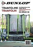 Dunlop 22759 - Trampolin mit Sicherheitznetz