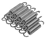 Upper Bounce 3.5' Trampoline Springs Heavy-Duty Galvanized- Set of 15, fits for: 40' Trampoline Model # Sunny Health DF-SD23-A