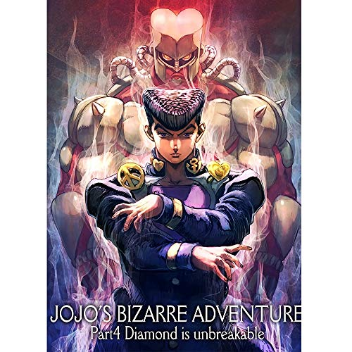 Fascinating Wooden Puzzle Japanese Anime, JOJO's Bizarre Adventure, Boxed 300~1500 Pieces of Puzzles, Adult Decompression Children's Educational Jigsaw, Parent-child Interactive Cooperative Games
