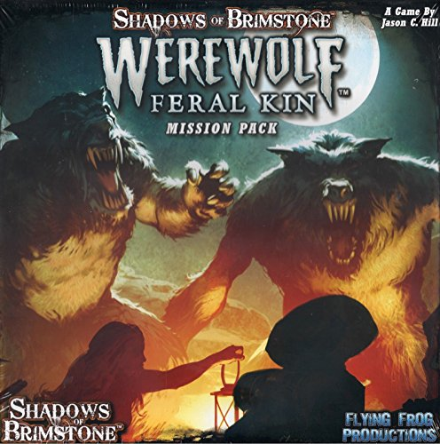 Flying Frog Productions FFP07MP05 Shadows of Brimstone: Werwolves-Mission Pack, Mehrfarbig