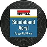 Soudal - Guarnizione sigillante a funzione autoespandente (da 3 a 40 mm), in materiale acrilico 300 15/3, larghezza banda 20 mm, lunghezza 4,3 m, colore: antracite