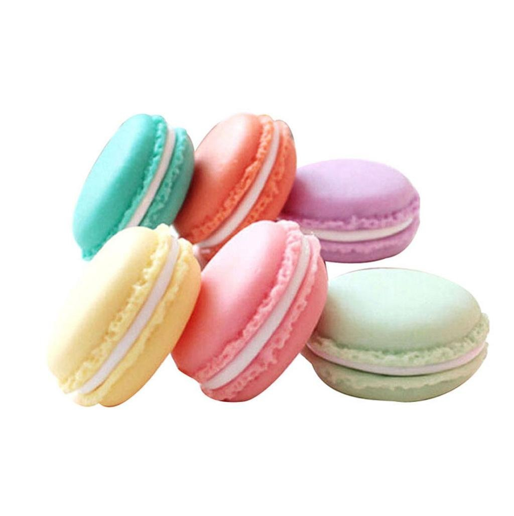 Nikgic. Bonita caja pastillero con forma de macaron, para también para joyas o dulces: Amazon.es: Hogar
