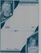 2009 TriStar TNA WWE Impact ANGELINA LOVE & VELVET SKY #2K-1 Press Plate 1/1