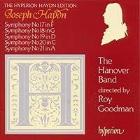 Haydn;Symphonies 17,18,19,2