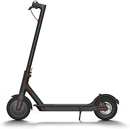 Amazon.com : Xiaomi Mi Electric Scooter, 18.6 Miles Long-range Battery, Up to 15.5 MPH, Easy Fold-n-Carry Design, Ultra-Lightweight Adult Electric Scooter (US Version with Warranty) : Sports & Outdoors