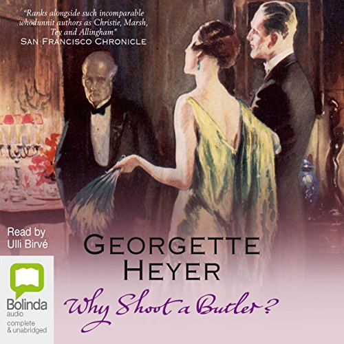 Why Shoot a Butler? cover art