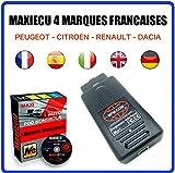 Interface de Diagnostic MPM-COM + MaxiECU 2 pour 4 Marques Françaises (Peugeot, Citroën, Renault et Dacia) - Diagnostic Professionnel