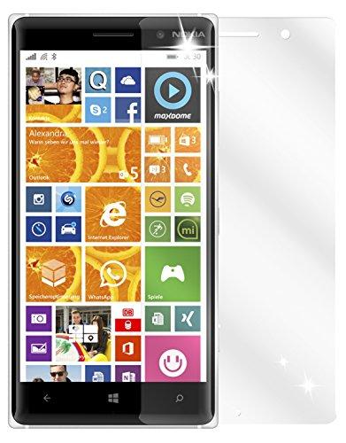 dipos I 2X Schutzfolie klar kompatibel mit Nokia Lumia 830 Folie Bildschirmschutzfolie