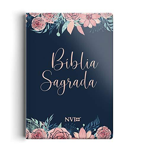 Bíblia NVI grande Novo Testamento - 2 cores capa especial rosas