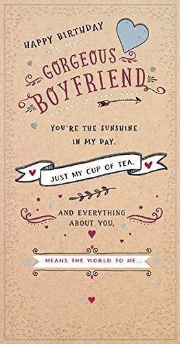 Vriendje gewoon mijn kopje thee verjaardagskaart