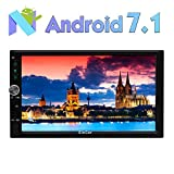 Eincar 7 Pouces Car Stereo Android 6.0 Marshmallow ¨¦Cran Tactile Double Din Dash Headunit vid¨¦o Navigation 1080P Autoradio Quad-Core CPU GPS Bluetooth RDS Support WiFi SD/USB / 3G / OBD2 / 4G d'Ap