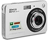 AbergBest Appareil Photo 21 Mega Pixels 2.7 LCD Rechargeable HD Digital Camera...