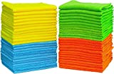 ALINK Microfiber Towel Cleaning Cloths 30x60 cm-Pack of 24 for Kitchen, Car, Furniture