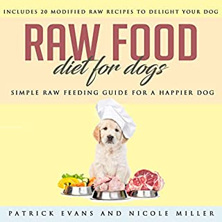 Raw Food Diet for Dogs audiobook cover art