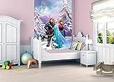 Lancashire Textiles Fototapete für Kinder Motiv zum DisneyfilmDie Eiskönigin – Völlig unverfroren