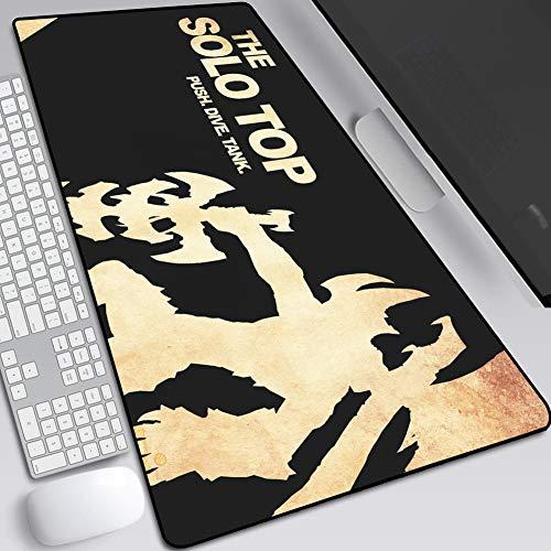 CSQHCZS-SBD groot spel muis pad, Keyboard Extension Animation Mat, antislip rubberen voet en fijne vanger, hoge gevoeligheid -900X400mm / 800X300mm A+++++
