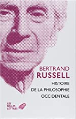 Histoire de la philosophie occidentale (2 volumes) de Bertrand Russell
