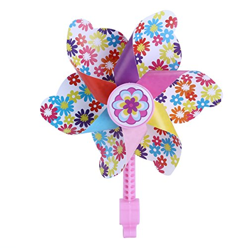 VORCOOL Kinder Fahrrad Lenker Blume Pinwheel Windmühle Dekoration für Fahrrad Roller