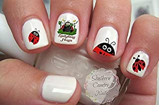 Ladybug Nail Art Decals