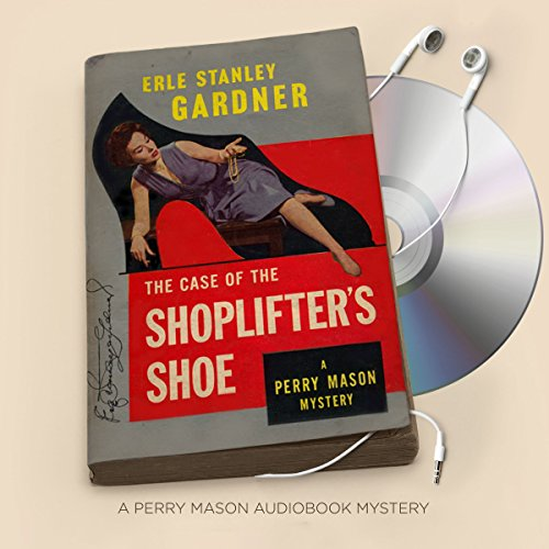 The Case of the Shoplifter's Shoe audiobook cover art