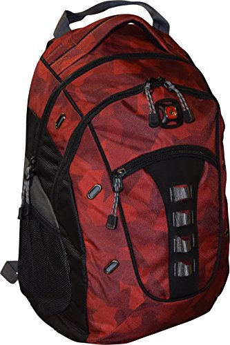 Wenger Granite Laptop Backpack, Red Camo