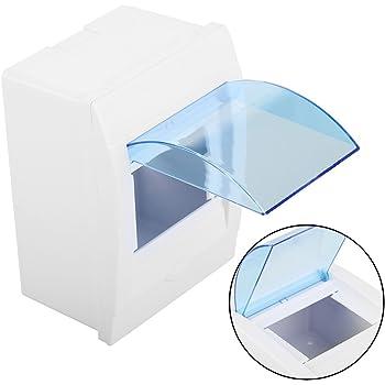 Caja de distribución, 1 Caja de plástico de protección para Interruptor de Circuito de 4 a 4 vías en la Pared: Amazon.es: Bricolaje y herramientas