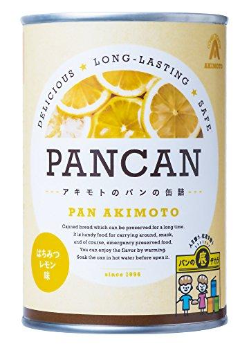 パン・アキモト パンの缶詰 はちみつレモン 100g×4個
