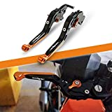 Motocicleta CNC Ajustable Palanca de Embrague de Freno para KTM Duke/RC 125...