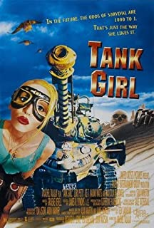 Tank Girl Movie Poster 24x36