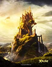 Xavier: Fantasy Medieval Castle Themed, Personalized Book with Name, Notebook, Personal Journal or Diary, 105 Lined Pages to Write In, Cool Birthday, ... Dad, Best Friends, Co-Workers, 8 1/2