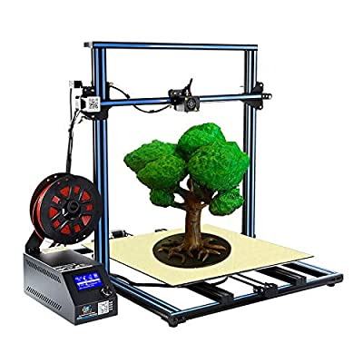 Creality CR-10 S5 Large Size 3D Printer with Dual Z-axis and Filament Sensor Resume Printing Semi-Assembled Printers DIY Kit Ideal for Industrial Work