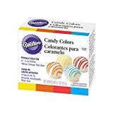 Wilton Primary Candy Color Set,(7 GM X 4 Bottles X 1 Set)