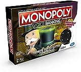 GH Monopoly Voice Banking - Juego de mesa electrónica 8 +