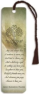 Irish Blessings Prayer 2 x 6 Glossy Paper Bookmark with Tassle Pack of 12