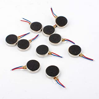 UNIQUE INDIA 10 pcs Coin Vibration Motor 1V to 4V 66mA Common Used Micro Vibration Motor for Cell Phone Toy