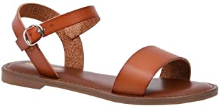 Women's Clara One Band Ankle Strap Sandal +Memory Foam, Wide Widths Available