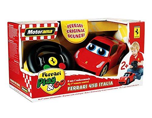 Motorama Mac Due Play and Go 500244 - Ferrari 458 Italia Radiocomando, Il Mio Primo Radio Comando [Colori Assortiti]
