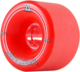 Playshion Longboard Skateboard Wheels for Cruising,  Slides,  Freeride and Downhill (Set of 4)