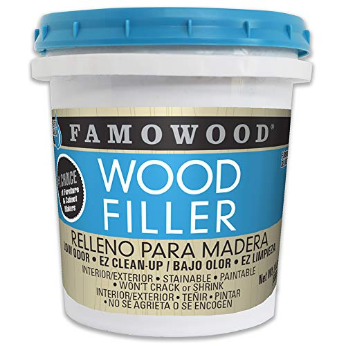 Famowood, Red Oak 40022134 Latex Wood Filler-Pint,...
