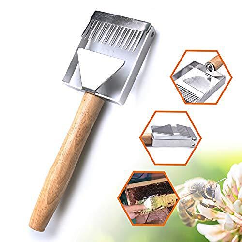 WXQY Edelstahl-Multifunktions-Waage schneiden Honig Schaufel Honig Werkzeuge Imkerwerkzeuge