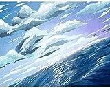ZXlDXF Pintura por números hermoso paisaje DIY acrílico pintura al óleo kit adultos niños principiante artes artesanías 40,6 x 50,8 cm