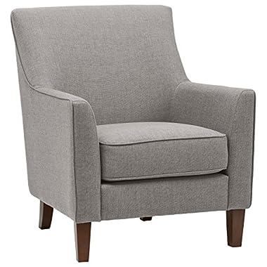 Stone & Beam Cheyanne Modern Accent Chair, 31 W, Storm