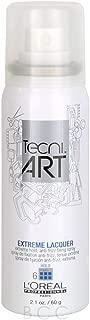 Tecni Art Extreme Lacquer Hold Anti Frizz Fixing Spray - 2.1 oz