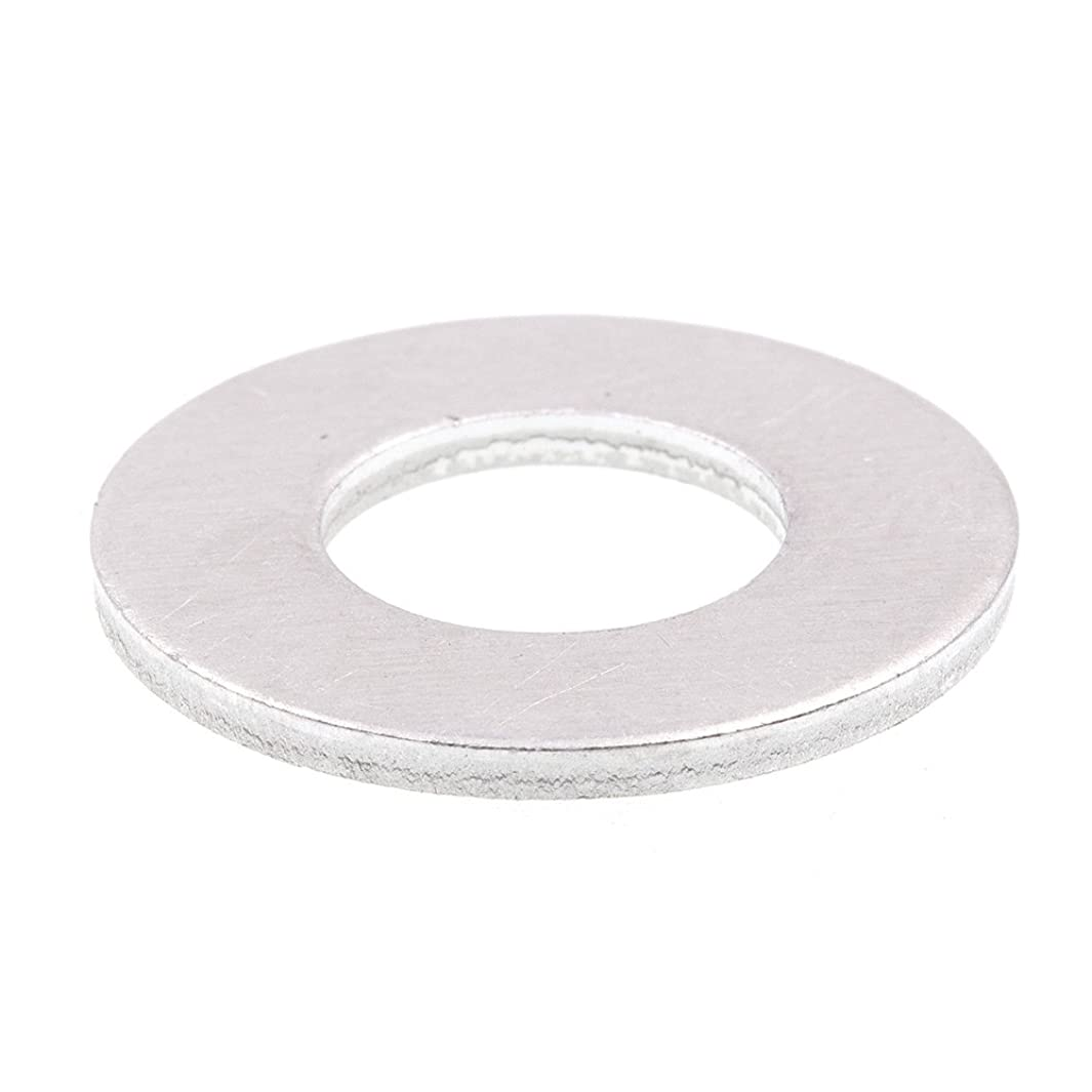Prime-Line 9080087 Flat Washers, USS, 3/8 in. X 1 in. OD, Aluminum, 10-Pack