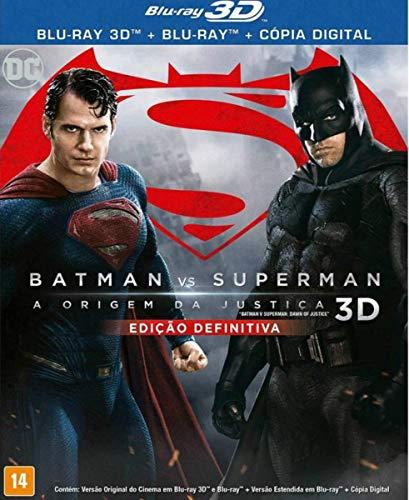 Batman Vs Superman: Odj (3D Combo) [DVD]