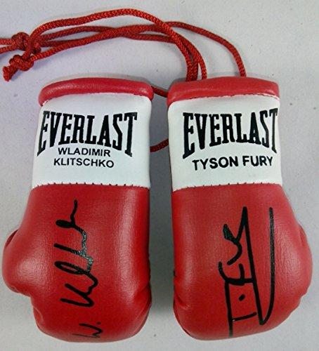 Everlast Tyson Fury V Wladimir Klitschko Signiert Mini Boxhandschuhe