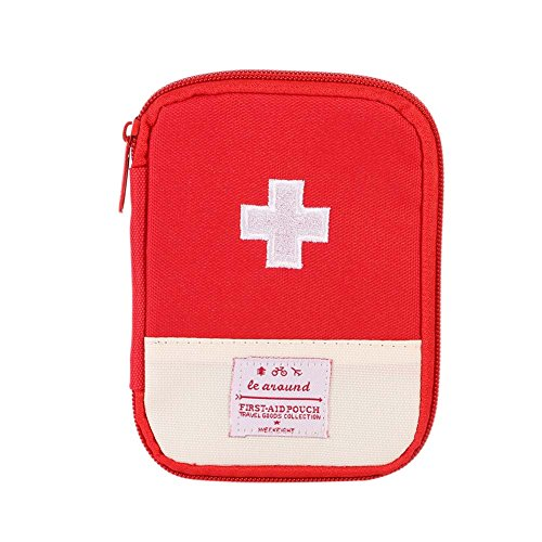 Wincer Outdoor First Aid Emergency Medical Survival Kit Bag Wrap Gear Bag Hunting Small Travel Medicine Pack