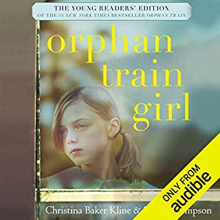 Orphan Train Girl audiobook cover art