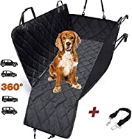 ❤️ WE SELL THE PRODUCTS WE ARE IN LOVE WITH. Our dog seat covers for cars are made from premium materials.We know how important it is to keep your car free scratches so we added side flaps to protect also the side doors, so you have 360 degree protec...